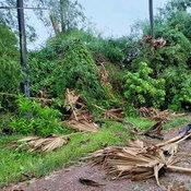 บางคล้าอ่วม พายุงวงช้างพัดถล่ม 5 หมู่บ้าน บ้านเรือนพังราบเป็นหน้ากลอง