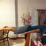 ไผ่ พาทิศ ทำ planking