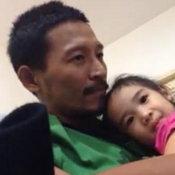 เอ็กซ์ จักรกฤษณ์กับลูกสาว