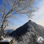 หิมะแรก กำแพงเมืองจีน