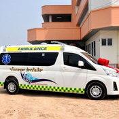 ก้อง ห้วยไร่ ทุ่มเงิน บริจาครถพยาบาลให้โรงพยาบาลพยัคฆภูมิพิสัย