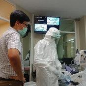 หมอเจี๊ยบ ดูแลผู่ป่วย โควิด19 ประเดิมเคสแรก ทำอาชีพนี้ด้วยใจไม่กลัว