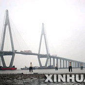 Hangzhou Bay Bridge in China