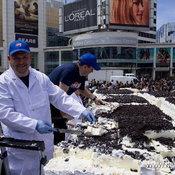 ไอศกรีมเค้กใหญ่ที่สุดในโลก