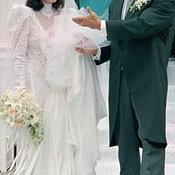 อาร์โนลด์ กับ มาเรีย เมื่อปี 1986