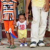 คนตัวเตี้ยที่สุดในโลก