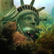 เทพีเสรีภาพจมมหาสมุทร