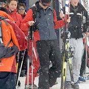 เคท มิดเดิลตัน และ เจ้าชายวิลเลี่ยม เล่่นสกีในวันหยุด