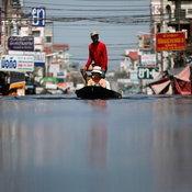 น้ำท่วมตอนเหนือของกรุงเทพฯ