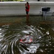 น้ำท่วมวัดมหาธาตุ กรุงเทพฯ