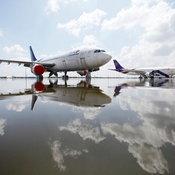 น้ำท่วมสนามบินดอนเมือง
