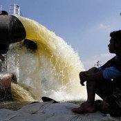 ภาพระบายน้ำ ปทุมธานี