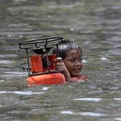 น้ำท่วมรังสิต กรุงเทพฯ