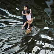 น้ำท่วมชุมชนริมเจ้าพระยา กรุงเทพฯ