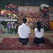 งานศพ น้องมายด์ มาธวี วัฒนกุล