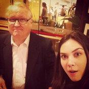 แมท ภีรนีย์กับคุณพ่อ