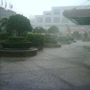 รัชดา-สุทธิสาร ฝนตกหนัก (12.05 น.)