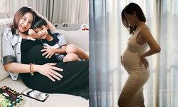 """""""นาเดีย"""" โชว์ท้องโต 8 เดือนใกล้คลอด ว่าที่คุณแม่ลูก2 สวยไม่เปลี่ยน"""