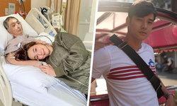 """""""มาริโอ้"""" อยู่เป็นกำลังใจให้ """"จันจิ"""" สูญเสียพ่อผู้เป็นที่รัก เขาดูแลพ่อจนนาทีสุดท้าย"""