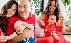 """""""ซาร่า มาลากุล"""" โชว์ภาพเต็มของลูกชาย """"น้องซานเดอร์"""" น่ารักน่าเอ็นดูมาก"""