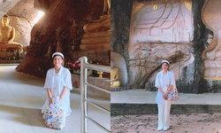 """""""กุ๊บกิ๊บ"""" เผยความฝันถึงหลวงปู่ขาวในถ้ำ สะดุ้งตื่นหาข้อมูลพบมีจริงดีใจได้มากราบ"""