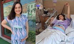 """""""นาตาลี เดวิส"""" คุณแม่ท้องแก่ เข้าโรงพยาบาลด่วน เกิดภาวะท้องแข็ง เสี่ยงคลอดก่อนกำหนด"""