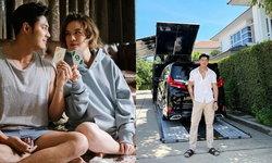 """""""แมน การิน"""" ทำเซอร์ไพรส์ซื้อรถหรูให้ """"เกล"""" จอดให้ถึงหน้าบ้าน"""