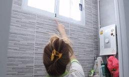 สาวโวยหนุ่มข้างบ้านปีนระเบียงส่องอาบน้ำ เจ้าตัวขอโทษนึกว่าขโมยขึ้นบ้าน