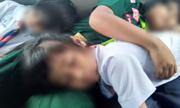 ช่วยเหลือ 3 เด็กหญิงพี่น้อง พ่อเลี้ยงบังคับให้นั่งดูตอนร่วมรักกับแม่