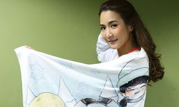 จั๊กจั่น ยืดอกเป็นแฟนคลับ GOT7 หอบผ้าห่มเข้ากองถ่าย เป็นกำลังใจในการทำงาน