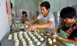 ขายดีเทน้ำเทท่า สามีภรรยาชาวจีนทำหมั่นโถว รับเดือนละนับแสน