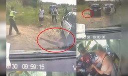 สลดใจ ! ตร.ไต้หวันห้ามคนเข้าช่วยหนุ่มเวียดนามที่ถูกยิงจมกองเลือด