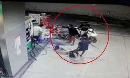 ฝากขัง 7 วัยรุ่นรุมกระทืบ-ไล่ยิงเด็กปั๊ม เหตุเติมน้ำมันล้น ตร.ค้านประกันตัว
