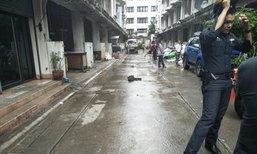 คนงานก่อสร้างจับสุนัขโยนลงจากตึกจนตาย กลางตลาดศรีย่าน