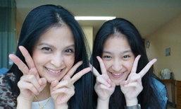 น้ำผึ้ง ทองเจือ กับลูกสาว น้องธัยน่า สวยเหมือนกันราวฝาแฝด