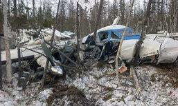 เครื่องบินเล็กตกที่รัสเซีย เด็กหญิง 4 ขวบรอดปาฏิหาริย์เพียงคนเดียว