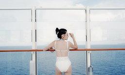 แซ่บเว่อร์ ดิว อริสรา ล่องเรือสำราญ เซ็กซี่แหวกอก-อวดบั้นท้าย