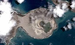 """นาซาเปิดเผยนาที """"เกาะกำเนิดใหม่"""" แห่งล่าสุดบนโลกใบนี้"""