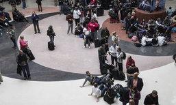 ไฟดับชุลมุน สนามบินเมืองแอตแลนตา ผู้โดยสารตกค้างเพียบ