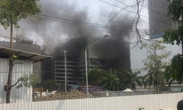 ไฟไหม้อาคารจอดรถ ห้างเดอะมอลล์ บางแค ระงับเหตุได้แล้ว