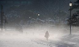 ภูเขาไฟระเบิดกะทันหัน ใกล้สกีรีสอร์ตญี่ปุ่น เกิดหิมะถล่มฉับพลัน