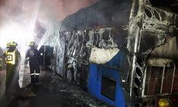 คนขับเล่านาทีไฟไหม้รถบัสแรงงานต่างด้าว ตะโกนให้หนีแต่ผู้โดยสารหลับ
