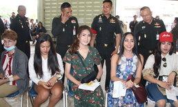 สีสัน หนุ่มสวยเผ่าผู้ไทยหน้าหวาน แห่ตรวจเลือกทหาร