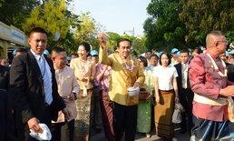 นายกฯ และภริยา ร่วมงาน 'เถลิงศกสุขสันต์ มหาสงกรานต์ ตำนานไทย'