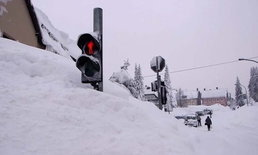 คลื่นความเย็นไซบีเรีย แผ่ปกคลุมยุโรป-หนาวสุดขั้ว เสียชีวิตแล้ว 10 คน