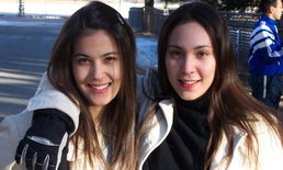 เปิดภาพ 15 ปีที่แล้ว ธัญญ่า กับน้องสาว เมื่อครั้งอยู่อเมริกา