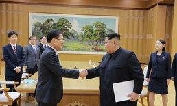 เกาหลีเหนือพร้อมปลดอาวุธนิวเคลียร์-แบะท่าพร้อมรวมชาติ