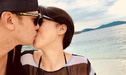 """หวานทุกทริป """"เต๋า สมชาย"""" พาภรรยาเที่ยว จูบประทับรอยทุกแห่ง"""