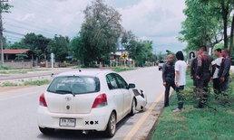 หนุ่มขับเก๋งชนสองแม่ลูกดับคู่ อ้างมีรถเกี่ยวจยย.ล้ม เบรกไม่ทันขยี้ซ้ำ