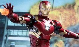 """ตำรวจหาวุ่น ชุด """"Iron Man"""" ถูกขโมยหายจากโกดังเก็บที่ลอสแอนเจลิส"""
